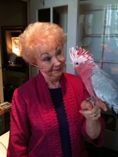 arlene with bird